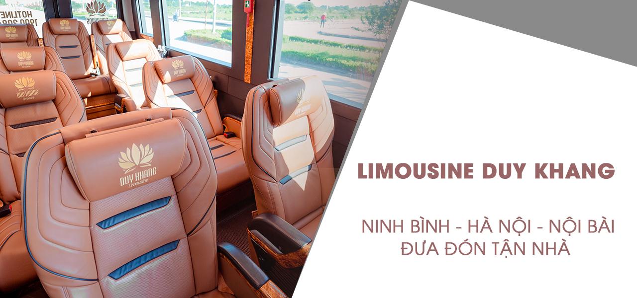 Nhà xe Limousine Duy Khang Ninh Bình - Hà Nội